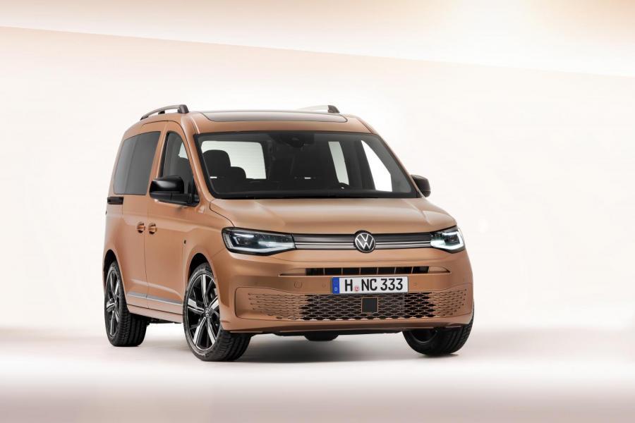 Världspremiär för nya VW Caddy