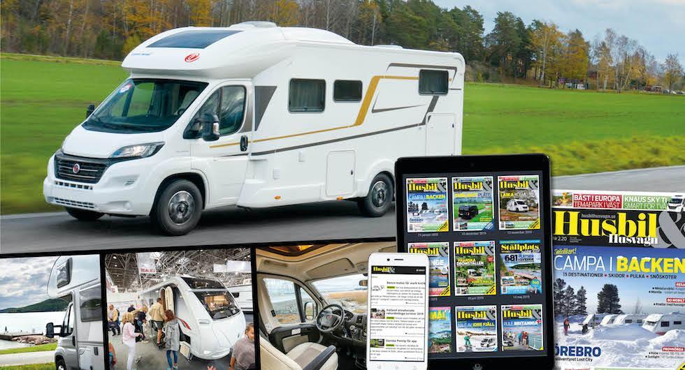 Prenumerera på Husbil & Husvagn – så enkelt kommer du igång