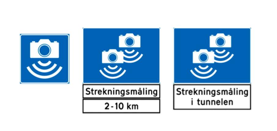 Norge utökar mätning mellan fartkameror