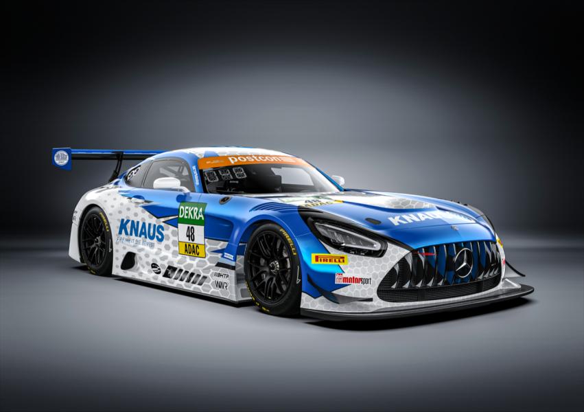 Knaus sponsrar förare i biltävling