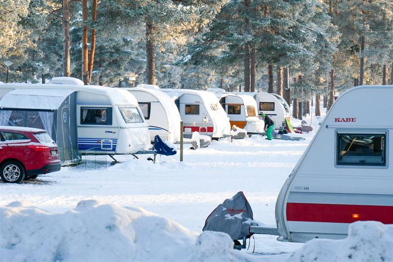 Orsa Camping ökade beläggningen med nästan 20 procent