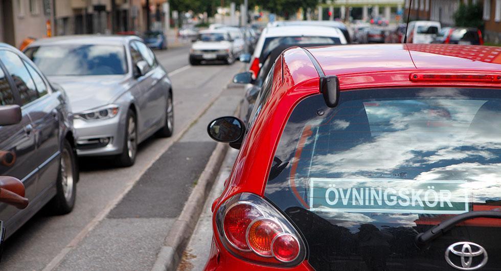 Körkortsproven utförs som vanligt