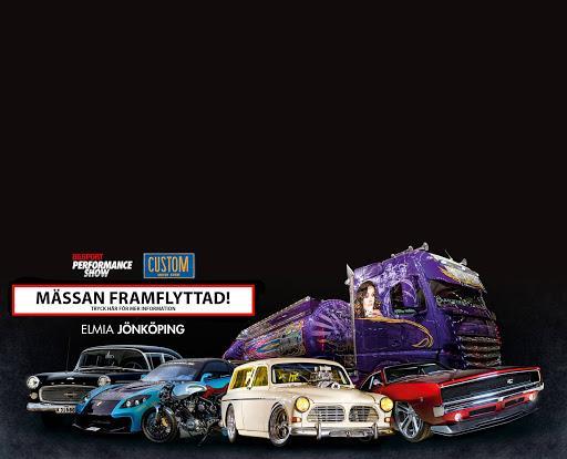 Bilsport Performance & Custom Motor Show ställs in.