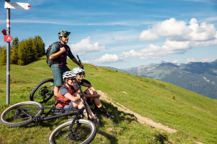 Bregenzerwald ett Eldorado för cyklister