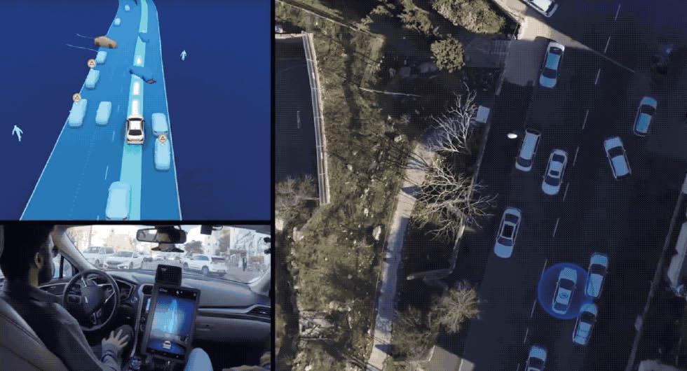 Smart assistans samlar uppgifter om bilvanor