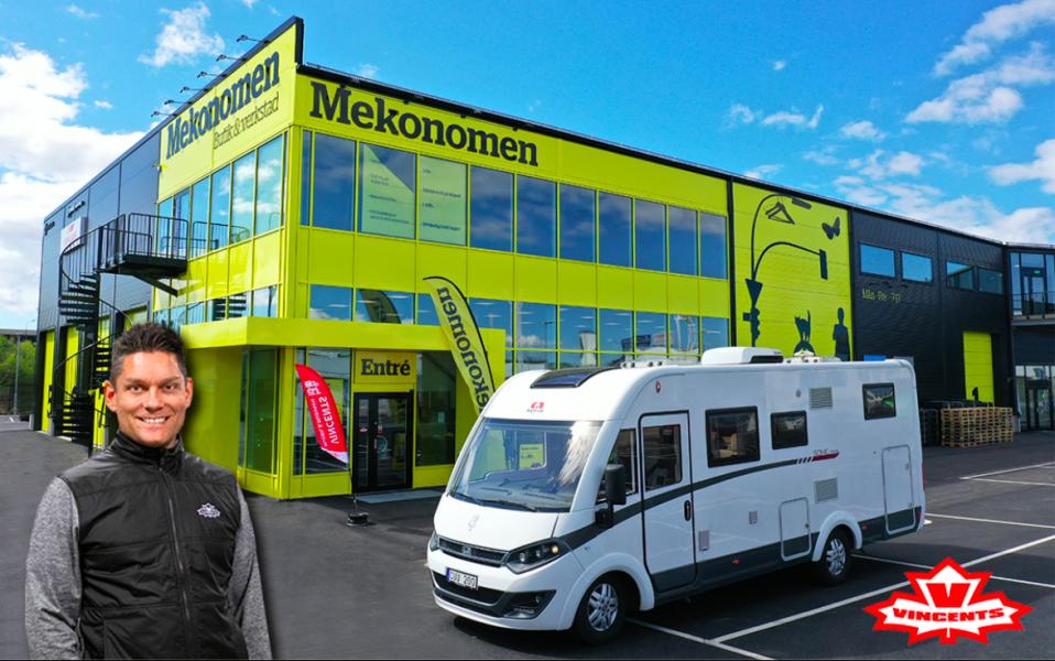 Vincents Husbil & Husvagn börjar samarbeta med Mekonomen