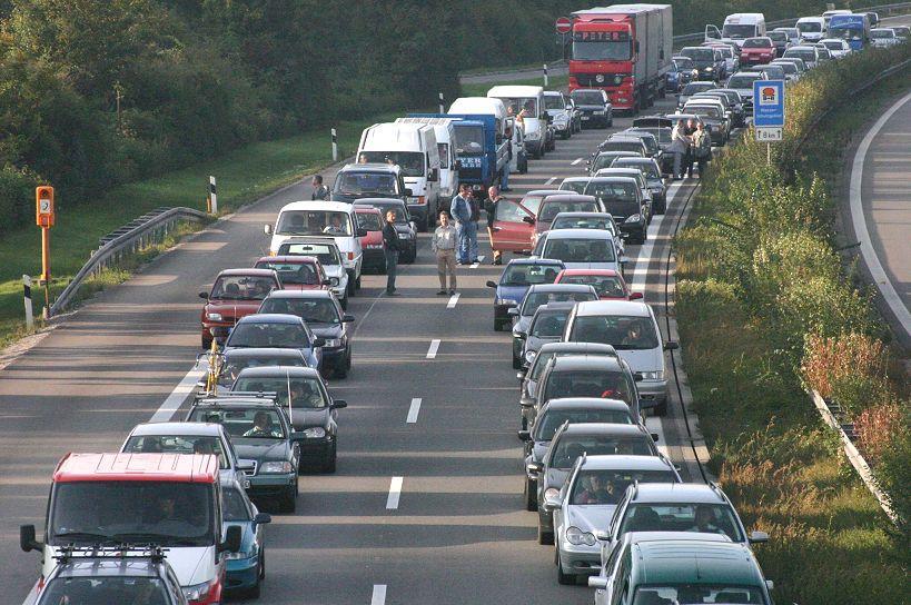 Kraftig minskning av trafiken i påskas