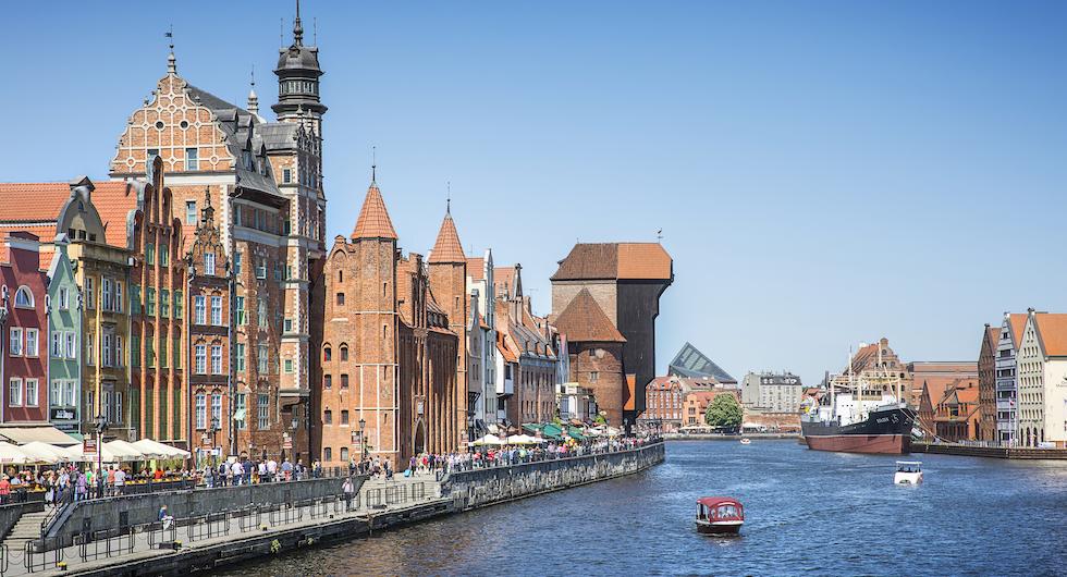 Gdańsk upplevs bäst till fots och utan stress.