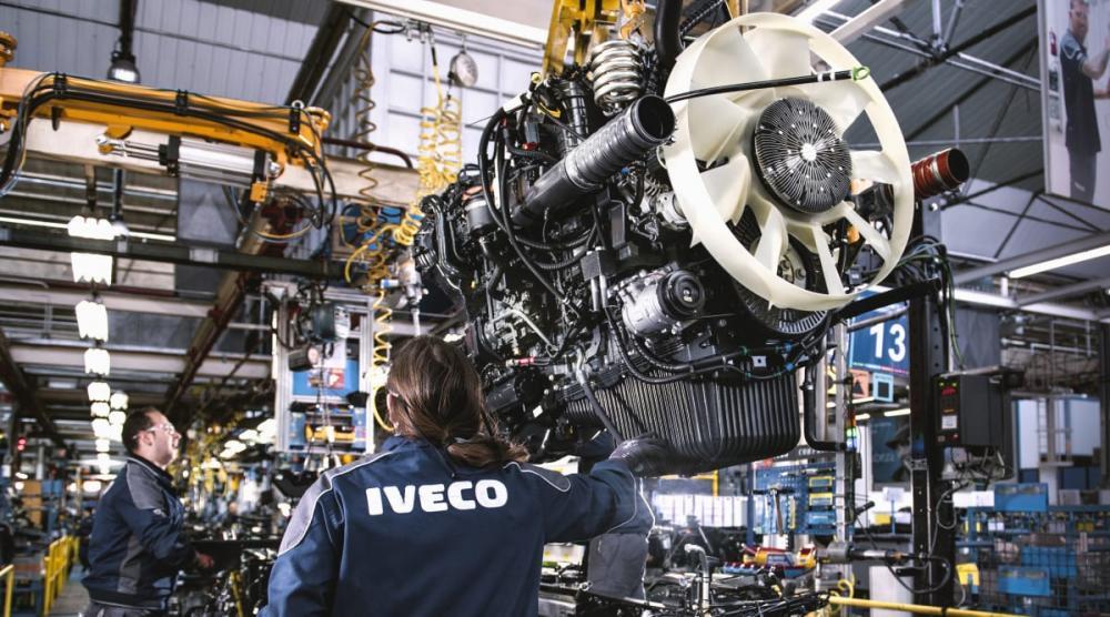 IVECO startar upp sin produktion