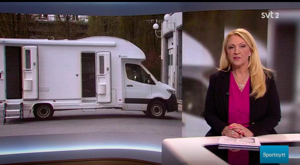 Svensk doping skaffar husbil