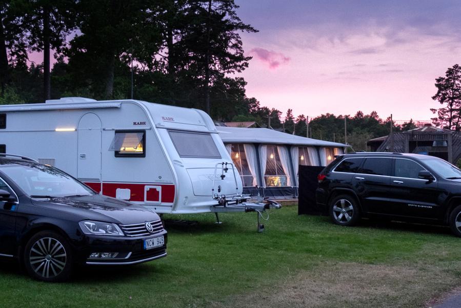 Camping bland de säkraste sätten att semestra