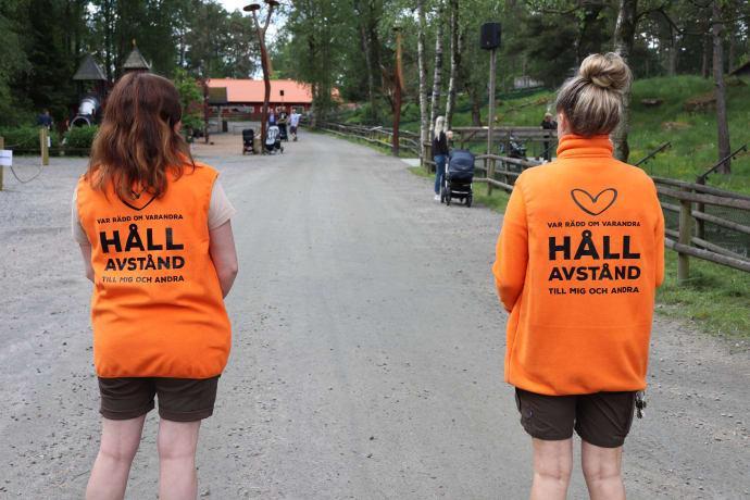 Borås Djurpark håller öppet men kräver förbokning