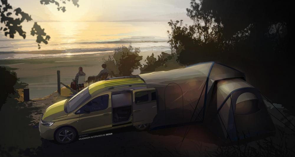 VW lanserar helt uppdaterad Caddy