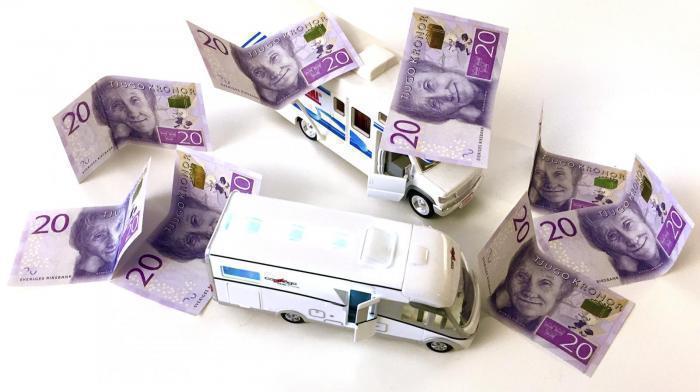 Debatt om skatten på husbilar i Expressen