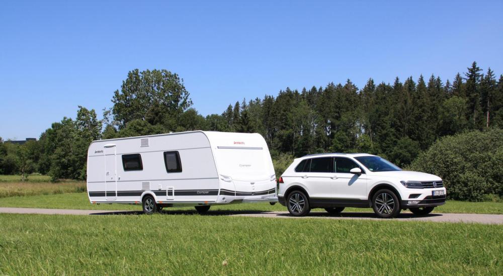Dethleffs familjehusvagn Camper