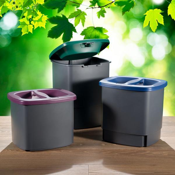 Liten avfallshink blir mindre med komprimering