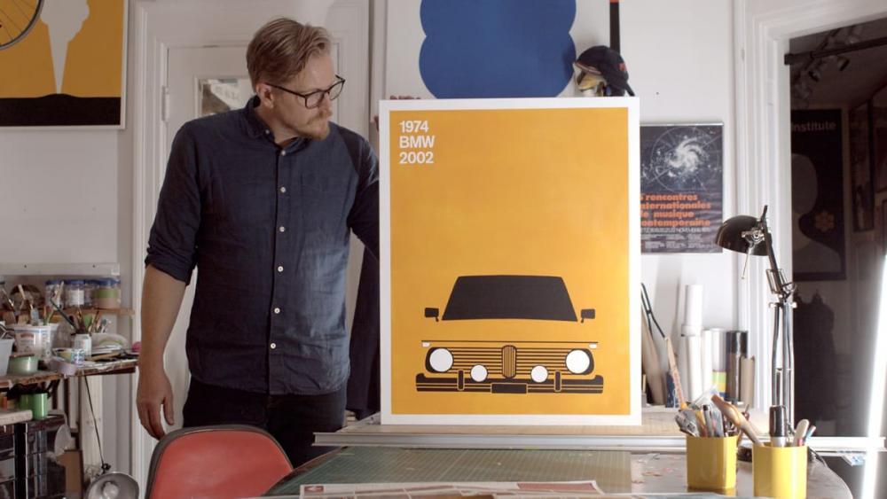 Continental hyllar bilhistoria i konstprojekt