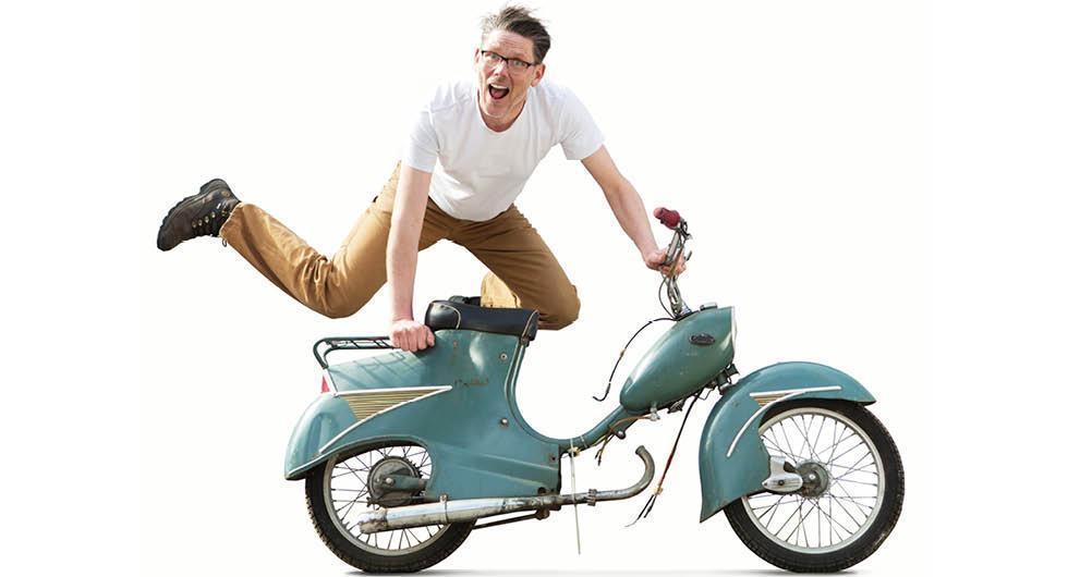 Så gick mopeden från bruksfordon till ungdomsdröm