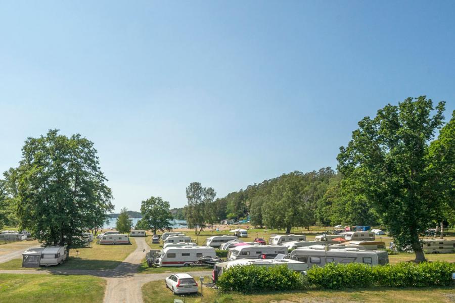 Swemester ger återhämtning för campingplatser