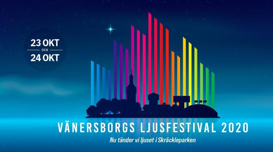 Vänersborgs Ljusfestival 23-24 oktober