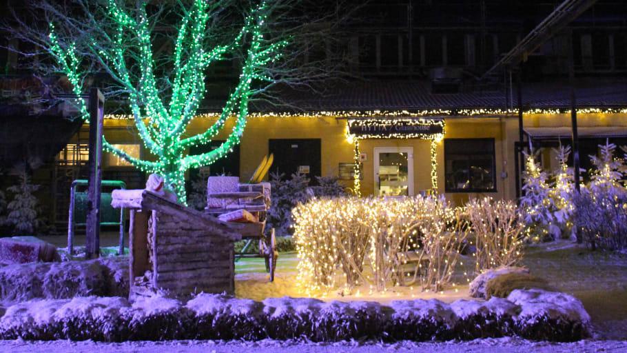 Sex miljoner juleljus i Kosta