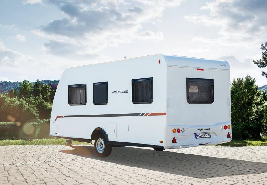 Husvagn utan gasol bland nyheterna från Weinsberg 2021