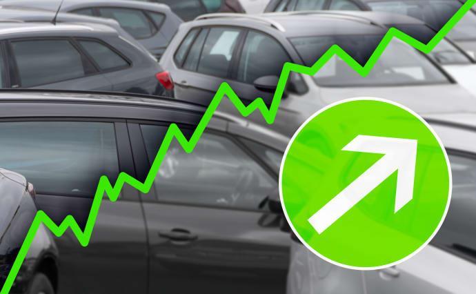 Begagnade bilar allt dyrare
