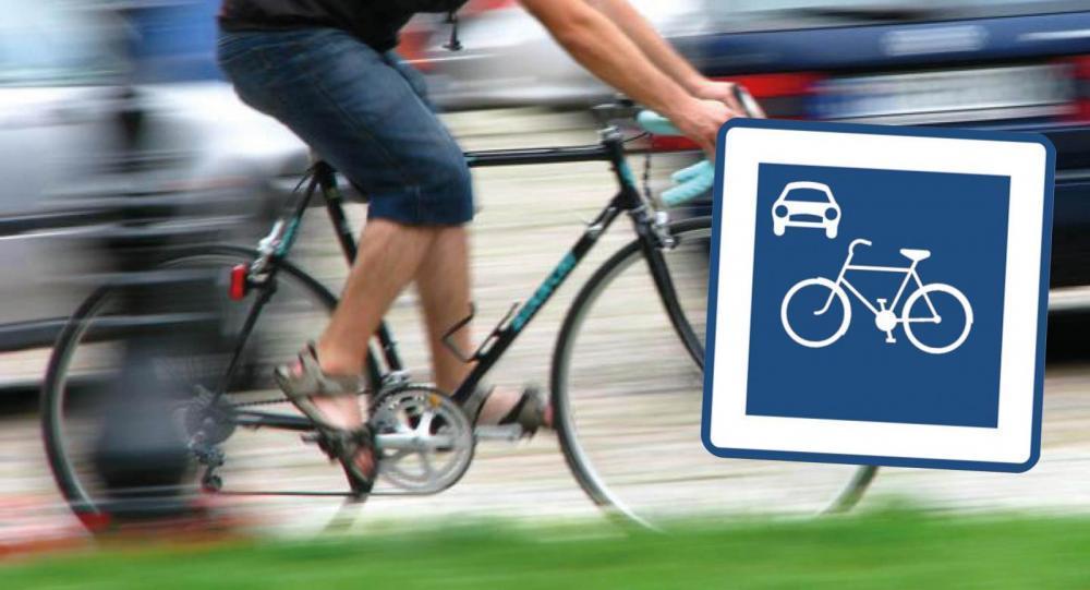 Omkörning i 30 på 30-väg kan ge böter