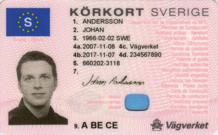 B-kort för 4 250 kilo ska utredas i Sverige