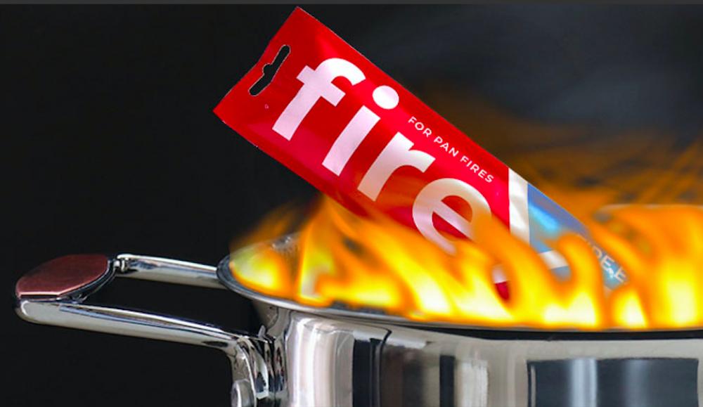 Nytt släckmedel släcker bränder snabbt och effektivt