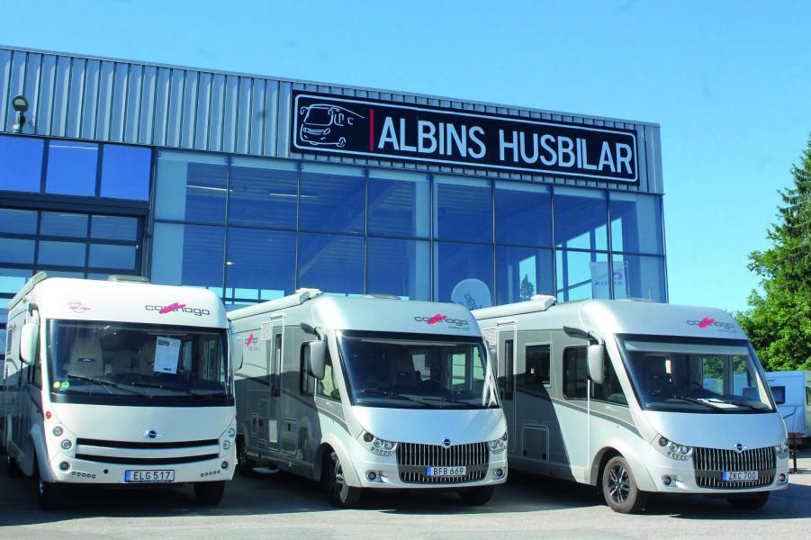 Autohallen husbilar förvärvar Albins husbilar