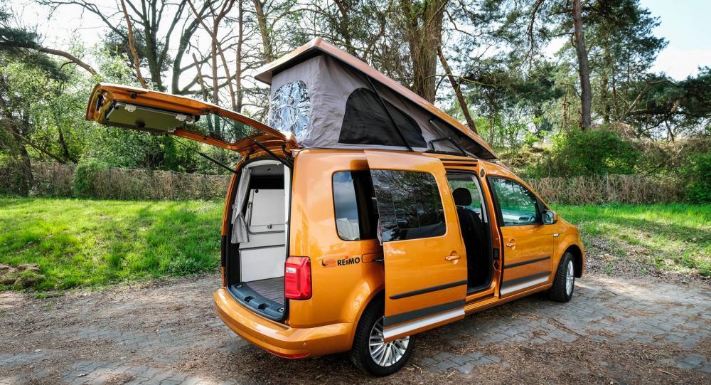 Reimo Caddy Camp Maxi – liten och busig