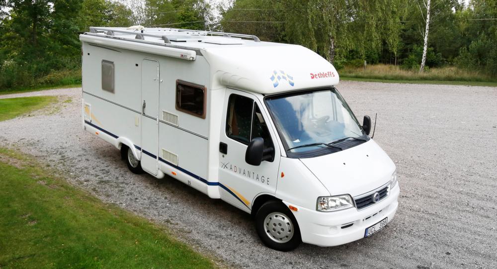 Begtest: Dethleffs Advantage T-6541 är en bra husbil för nybörjare