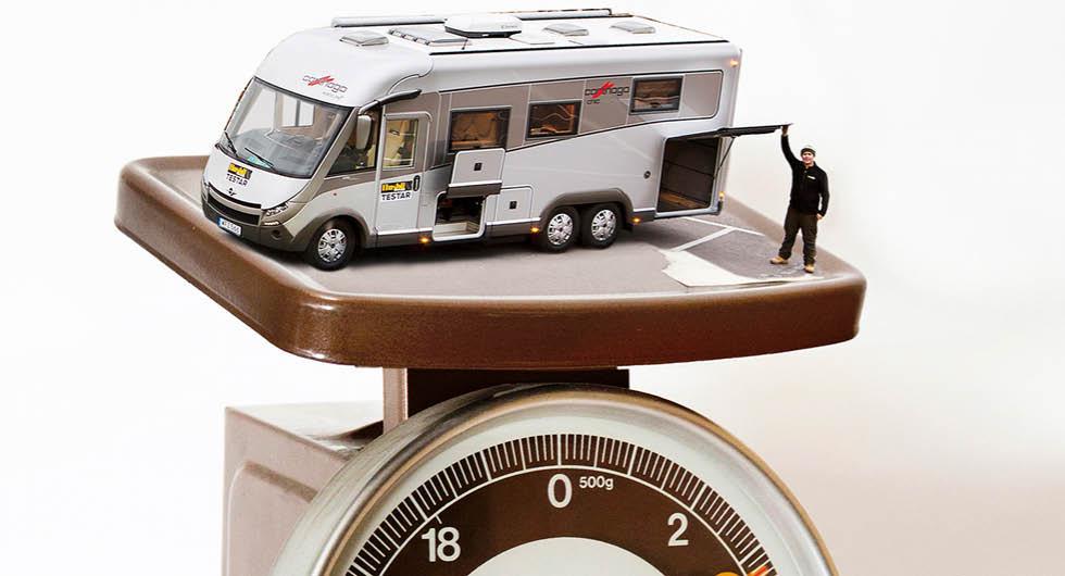 Nya bötesbelopp för överlast av husbilar och husvagnar