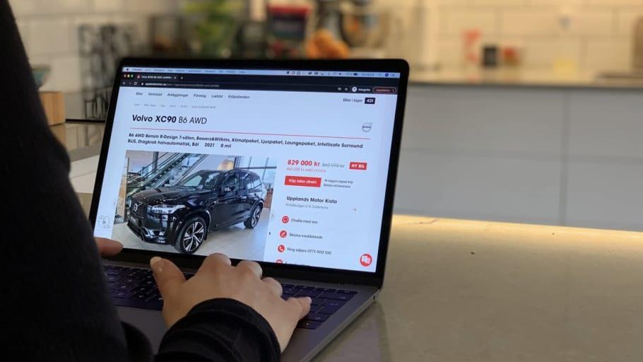 Svenskarna allt mer positiva till att köpa bil online