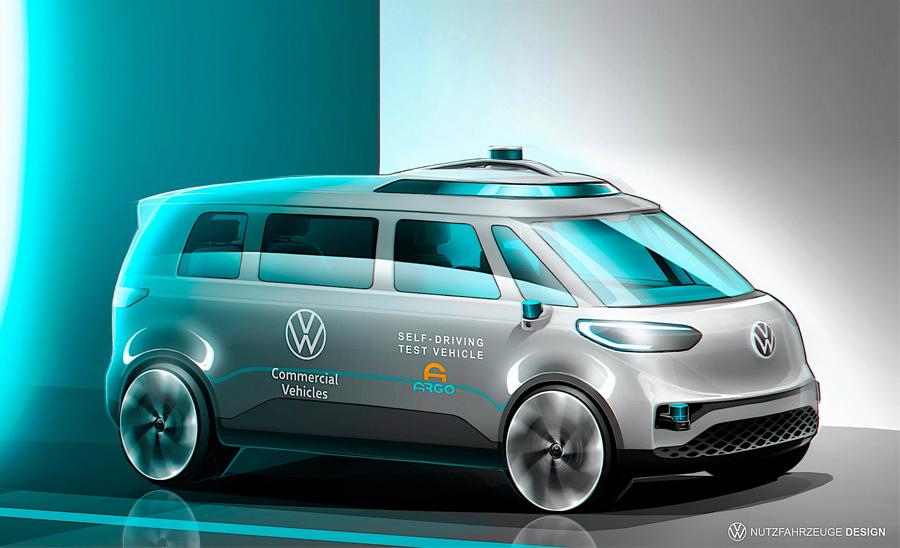 ID. BUZZ ska bli först ut som självkörande hos VW