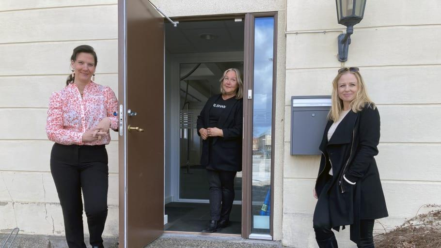 Turistbyrån i Karlshamn har öppet på Östra Piren i sommar
