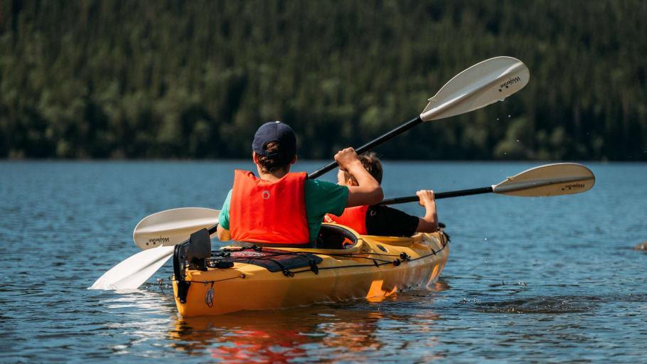 Padel och äventyr i Åre i sommar