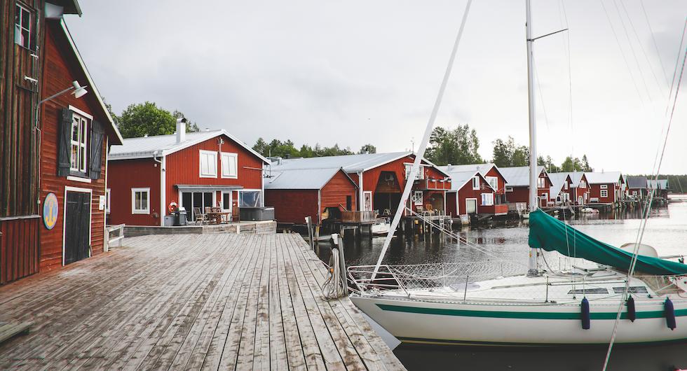 Resa: Mellanfjärden är en oas längs södra Norrlandskusten
