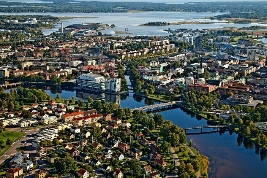 Ny ställplats för husbil i Karlstad