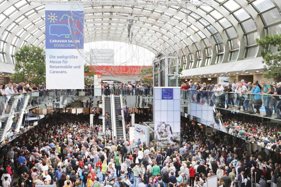 60-årsjubileum för Caravan Salon i Düsseldorf i år
