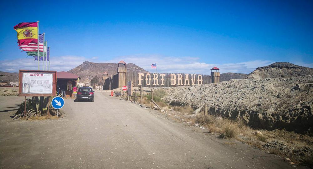 Vi besöker spanska västernstaden Fort Bravo