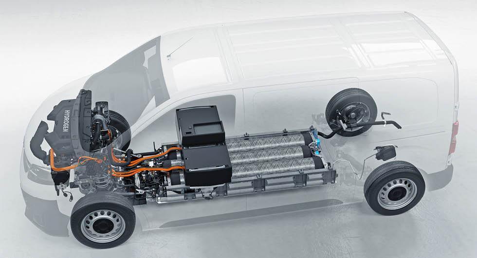Opel lanserar vätgashybrid som klarar 40 mil