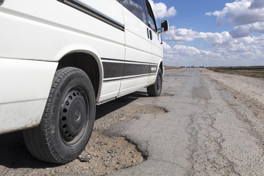 Stickad väg kan vara bättre än asfalt
