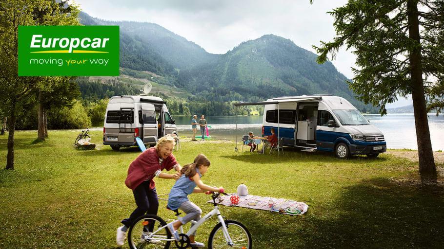 Hemester på hjul med VW Grand California hos Europcar