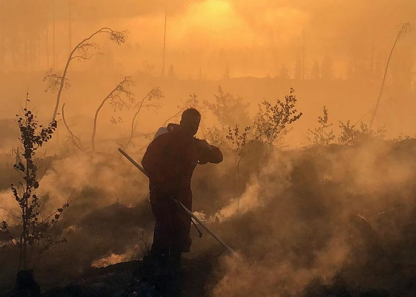 Eldningsförbud på grund av torka och brandrisk