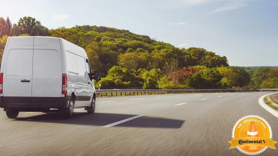 Continental har Fri Vägassistans på sina däck för husbilar