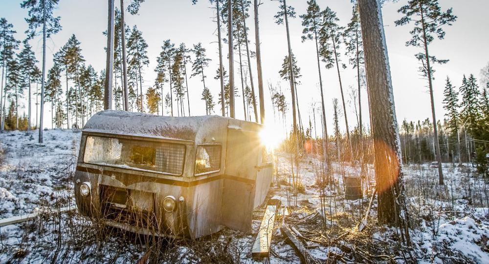 Dubbelt upp av Husbils-Saab