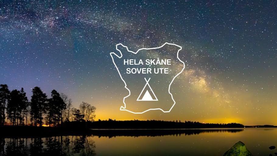 Hela Skåne sover ute 2021