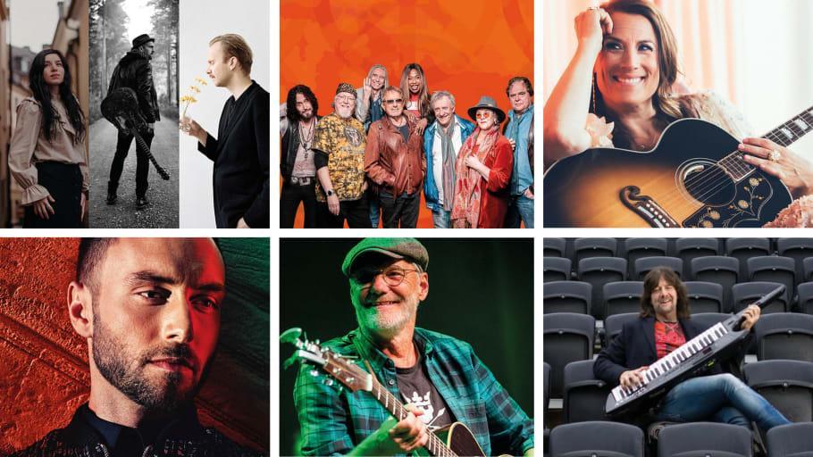Dalhallas program spikat för juli 2021 – Här är alla artister